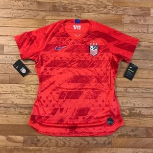 Nike USA National Team USWNT 4 Star Soccer Jersey